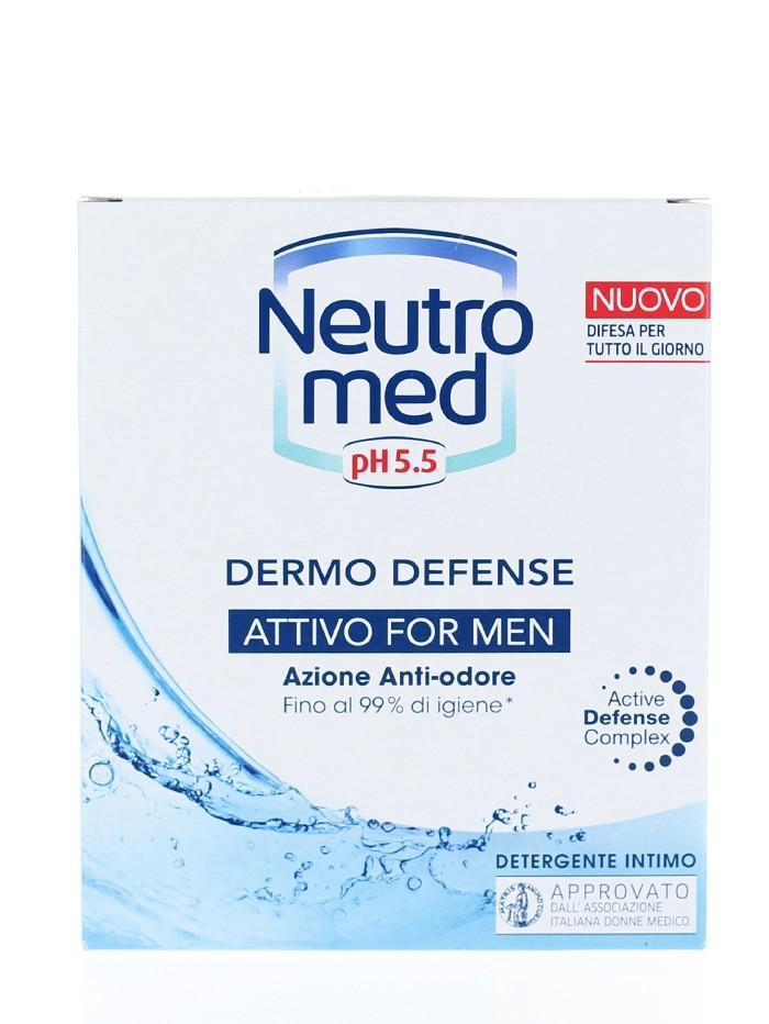 Neutromed Sapun lichid intim barbati 200 ml Attivo For Men imagine produs