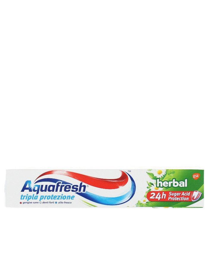 Aquafresh Pasta de dinti 75 ml Triple Protection Herbal imagine produs
