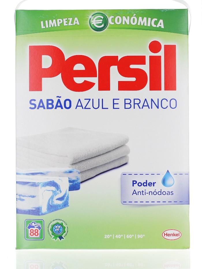 Persil Detergent automat 4.664 kg 88 spalari Sabao Azul E Branco imagine produs