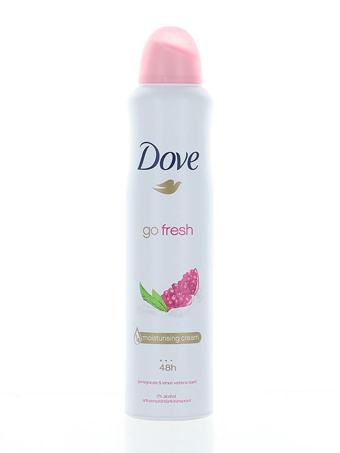 Dove Spray deodorant femei 250 ml Go Fresh Pomegranate imagine produs