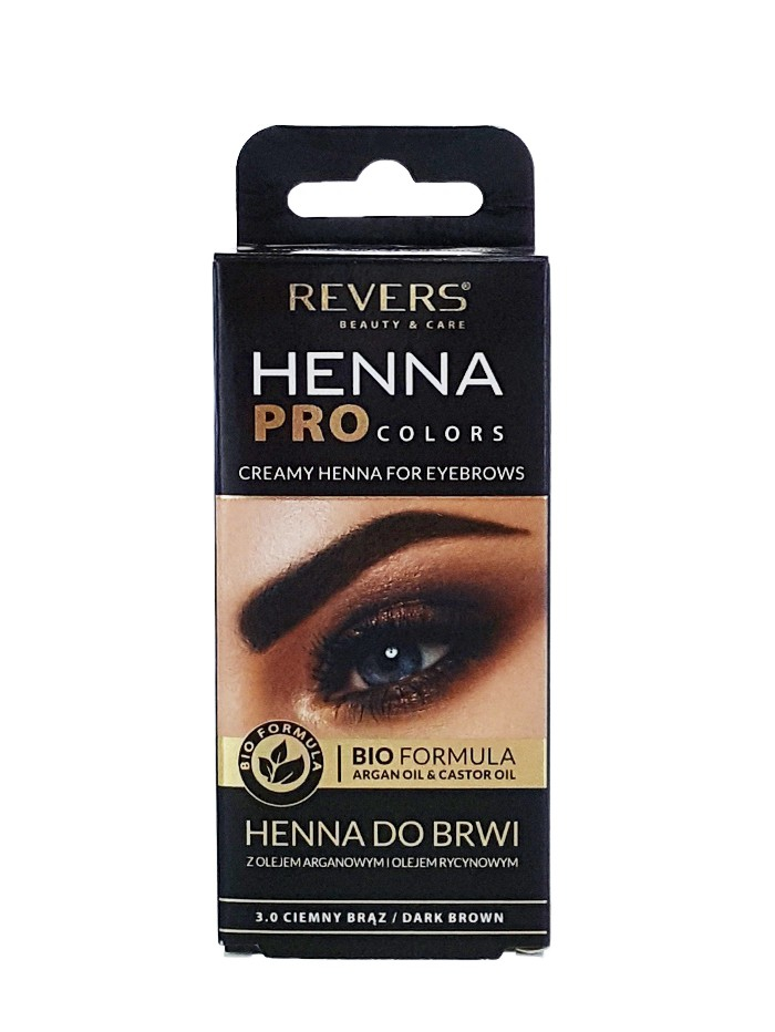 Revers Henna pentru sprancene 15 ml Dark Brown imagine produs