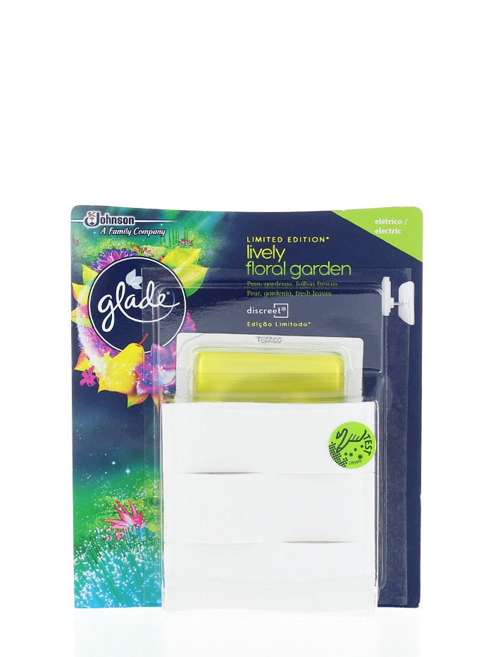 Glade Aparat odorizant electric+Rezerva 8 g Lively Floral Garden imagine produs