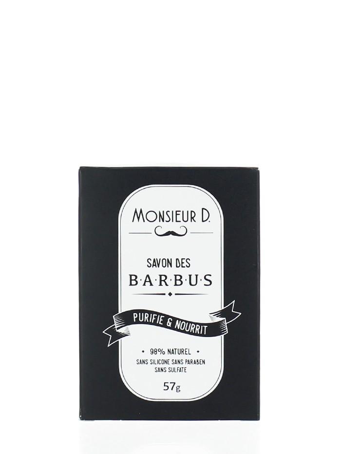 Monsieur D Sapun pentru barba 57 g Purifie & Nourrit imagine produs