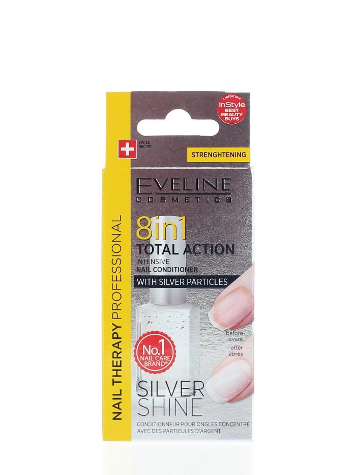Eveline Tratament Unghii 12 ml Silver Shine 8 in1 imagine produs