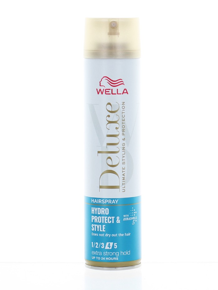 Wella Deluxe Fixativ de par 250 ml Hydro Protect&Style Nr:4 Extra Strong Hold imagine produs