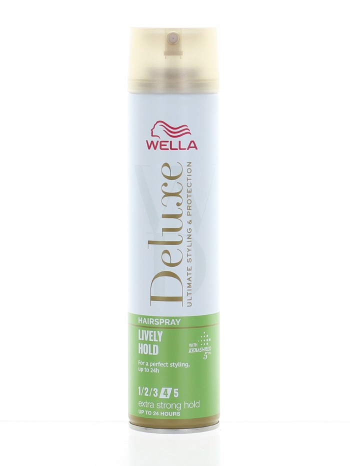 Wella Deluxe Fixativ de par 250 ml Lively Hold Nr:4 Extra Strong Hold imagine produs
