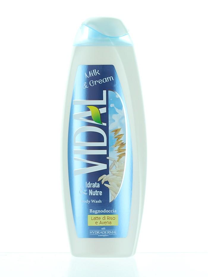 Vidal Gel de dus 500 ml Milk & Cream imagine produs