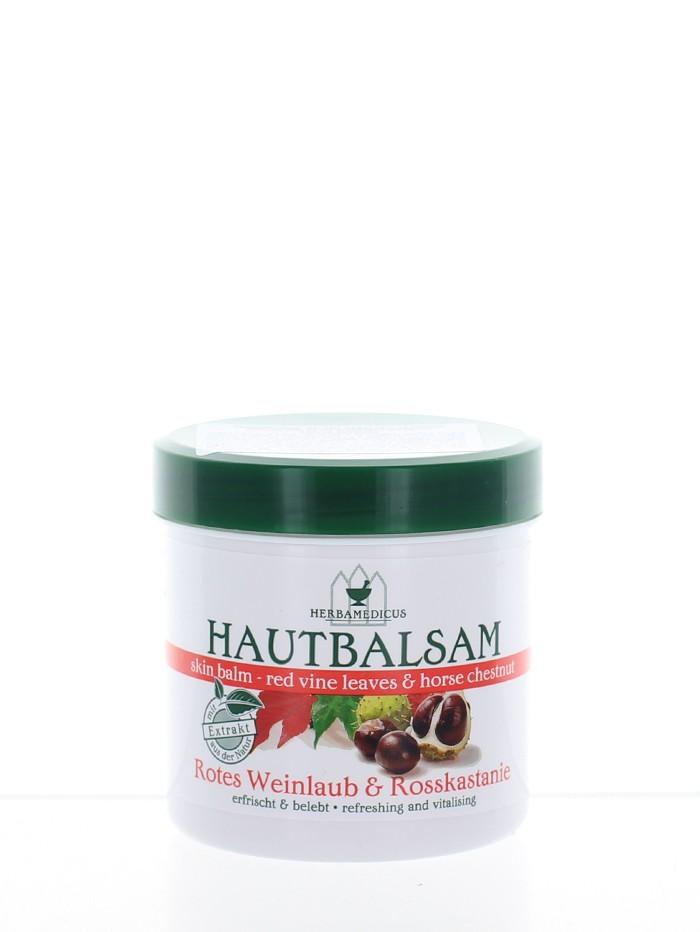 Herbamedicus Balsam cu extract de frunze rosii de vita si castane 250 ml imagine produs