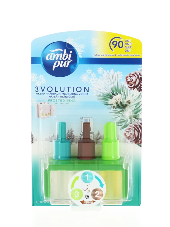 Ambi Pur Rezerva Odorizant Priza 3 volution 20 ml Frosted Pine imagine produs