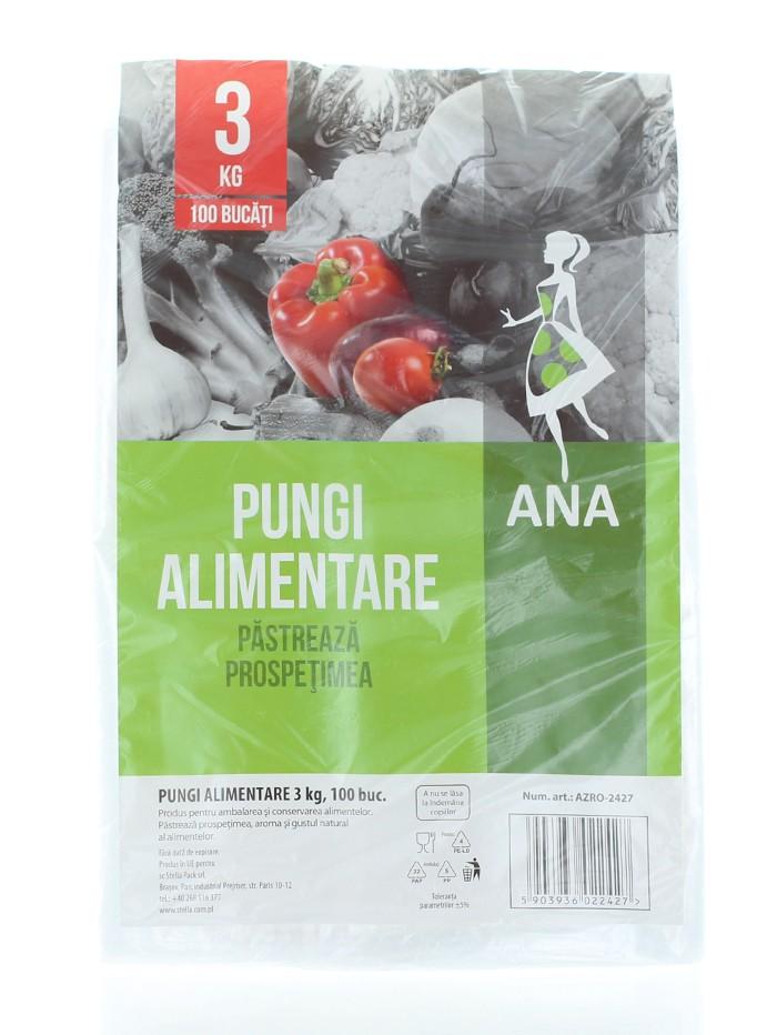 Anna Pungi alimentare 3 kg 100 buc imagine produs