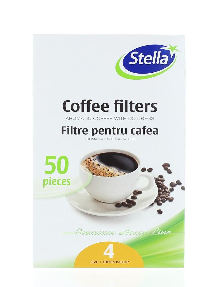 Stella Filtre pentru cafea 50 buc Nr:4 imagine produs