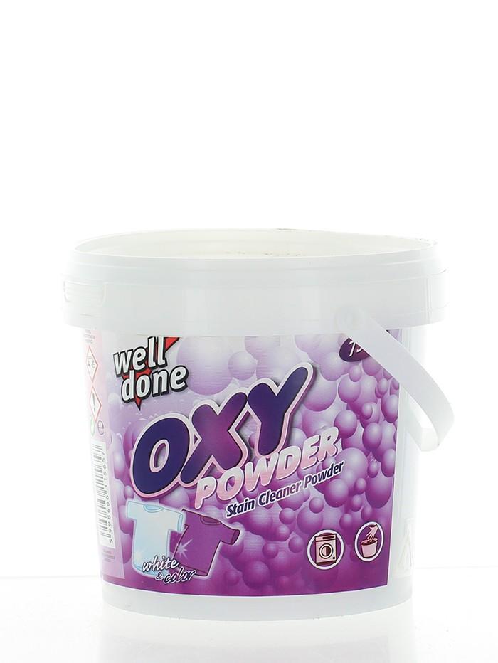 Well Done Praf pentru indepartarea petelor 750 g Oxy Powder imagine produs