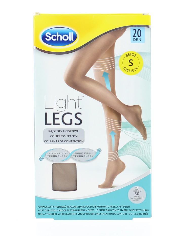 Scholl Light Legs Ciorapi compresivi 20 DEN maime S (Beige) imagine produs