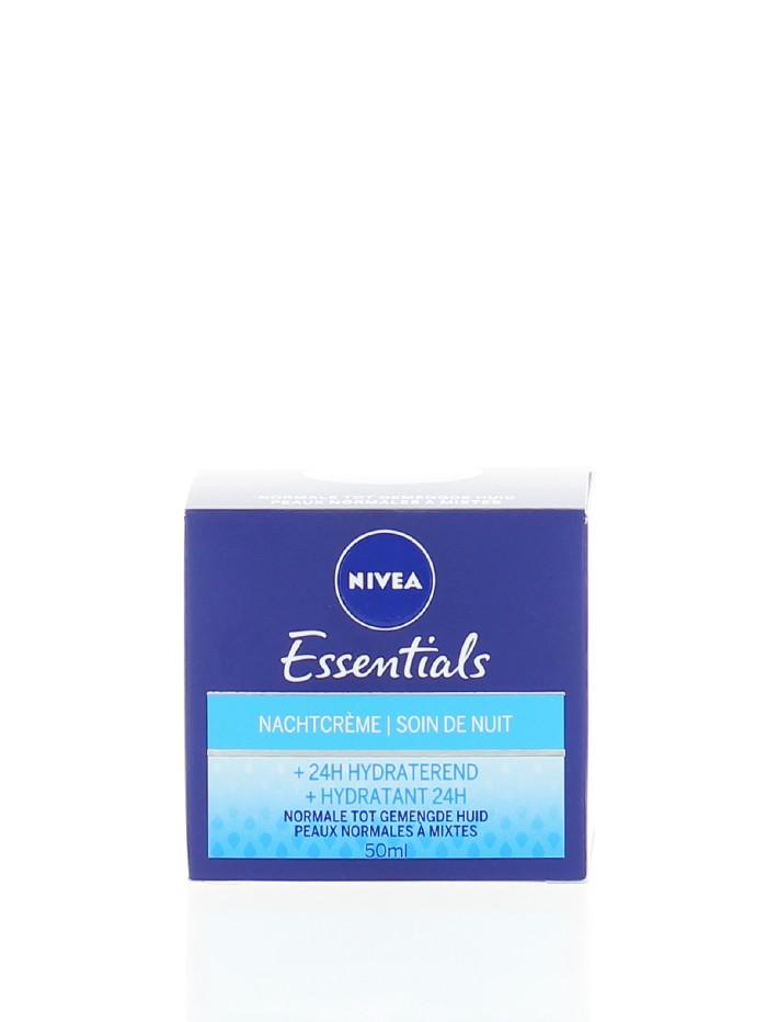 Nivea Crema de noapte 50 ml Essentials Hydratant 24H imagine produs