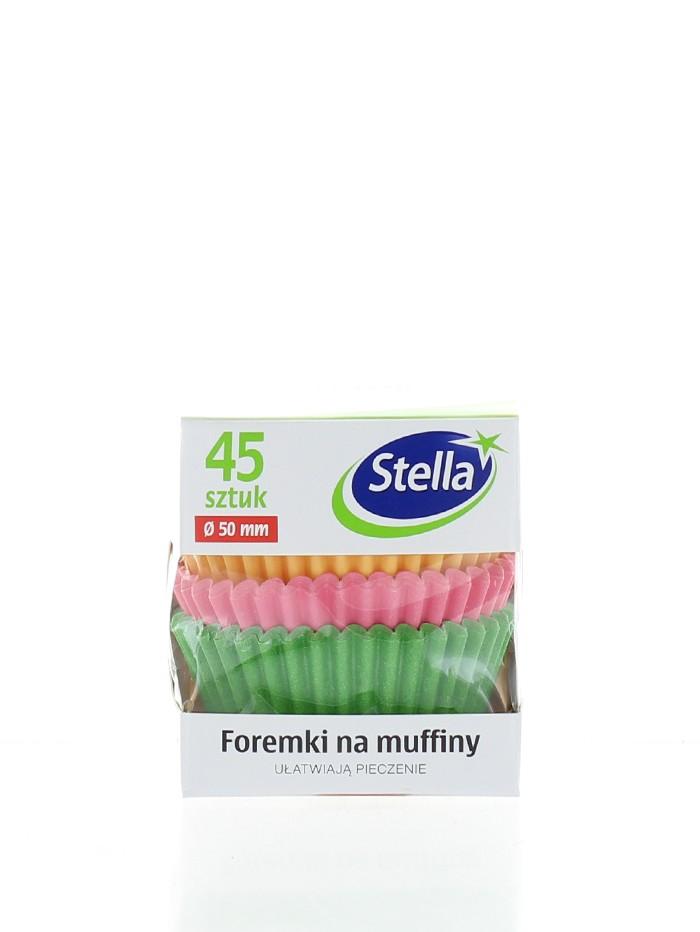 Stella Forma Colorata Muffin 45 buc Cutie imagine produs
