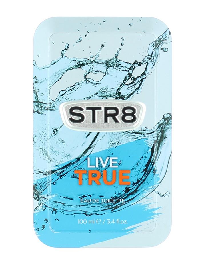 STR8 Parfum in cutie metalica 100 ml Live True (Design Vechi) imagine