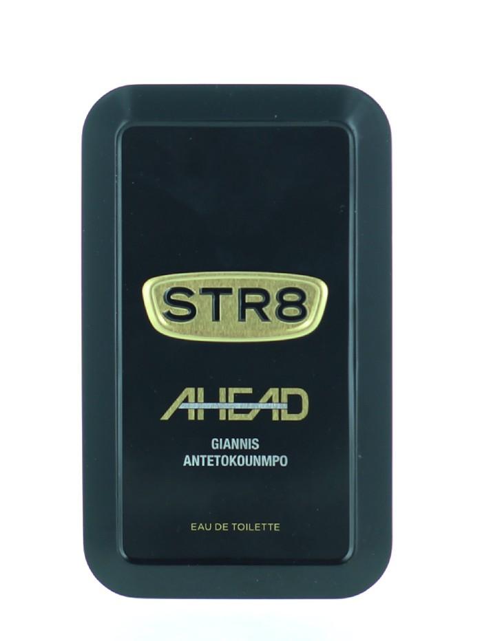 STR8 Parfum in cutie metalica 50 ml Ahead (Design Vechi) imagine