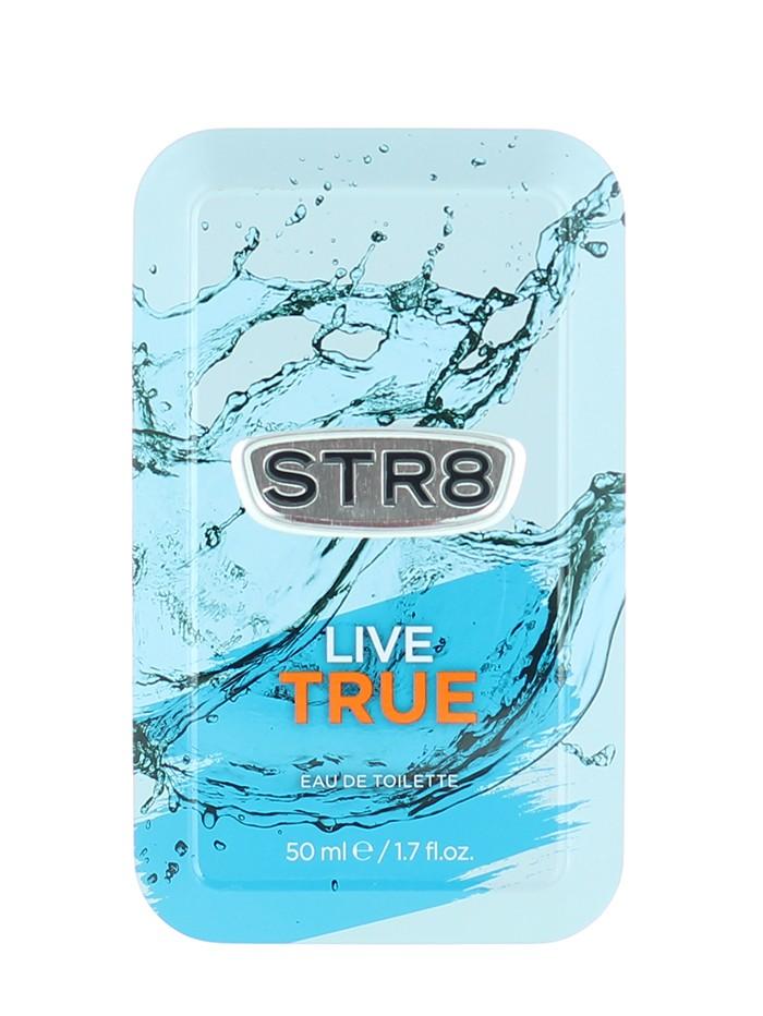 STR8 Parfum in cutie metalica 50 ml Live True (Design Vechi) imagine