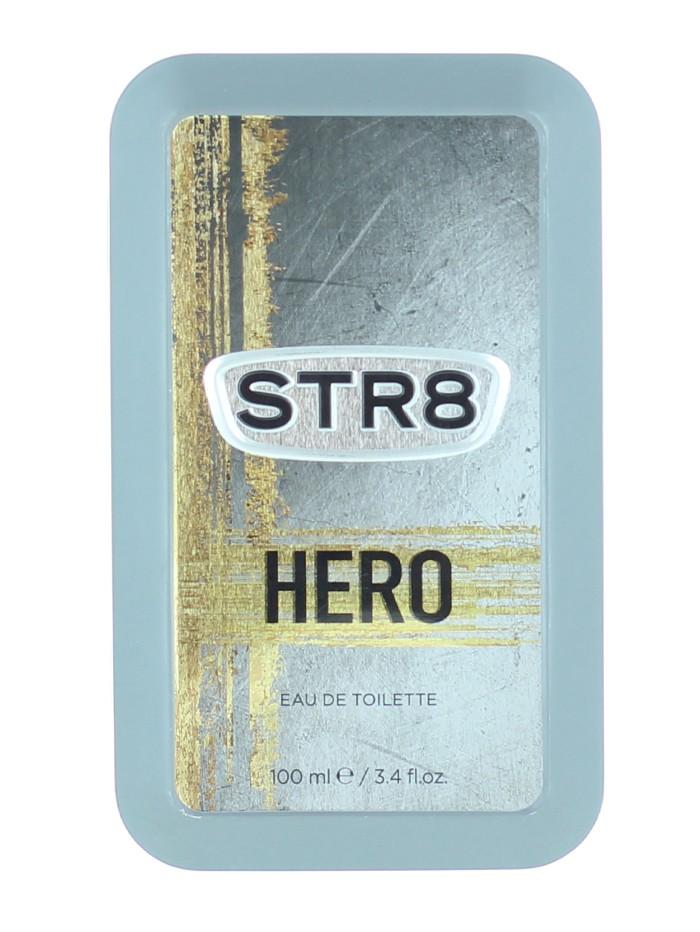 STR8 Parfum in cutie metalica 100 ml Hero (Design Vechi) imagine