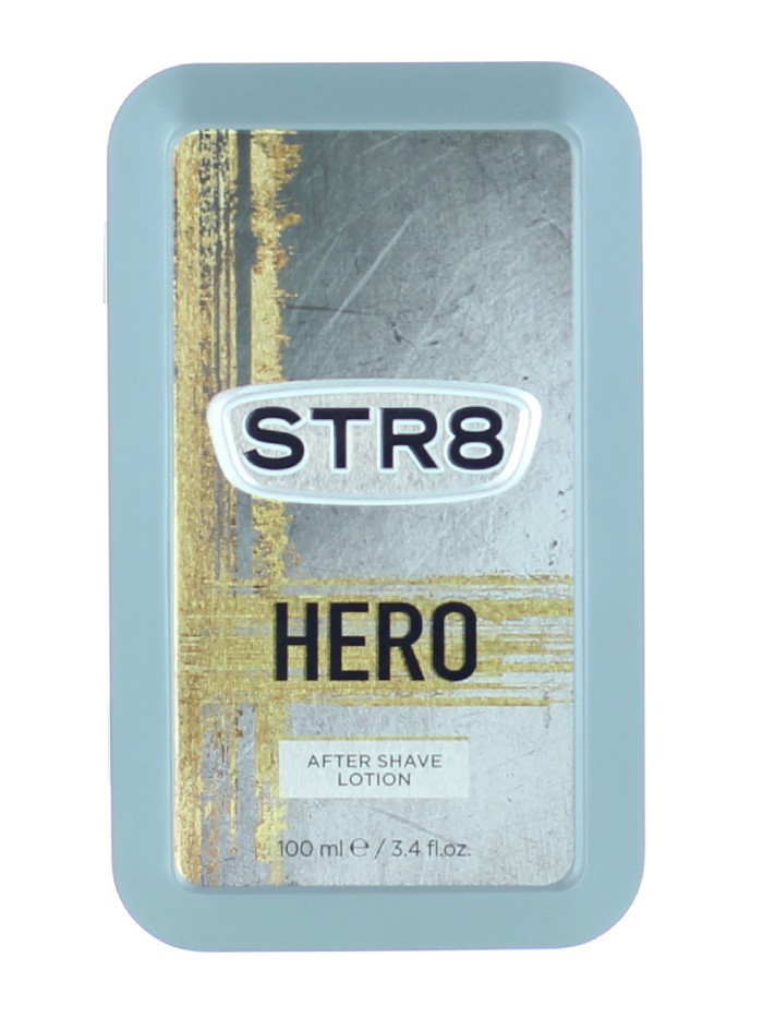 STR8 After Shave in cutie metalica 100 ml Hero (Design Vechi) imagine produs