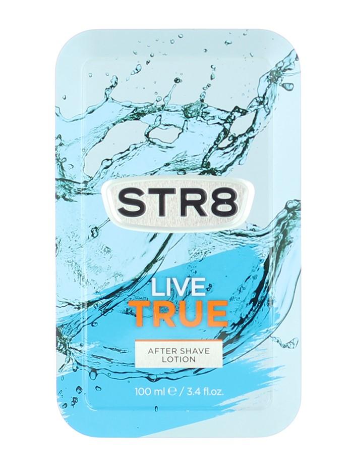 STR8 After Shave in cutie metalica 100 ml Live True (Design Vechi) imagine produs