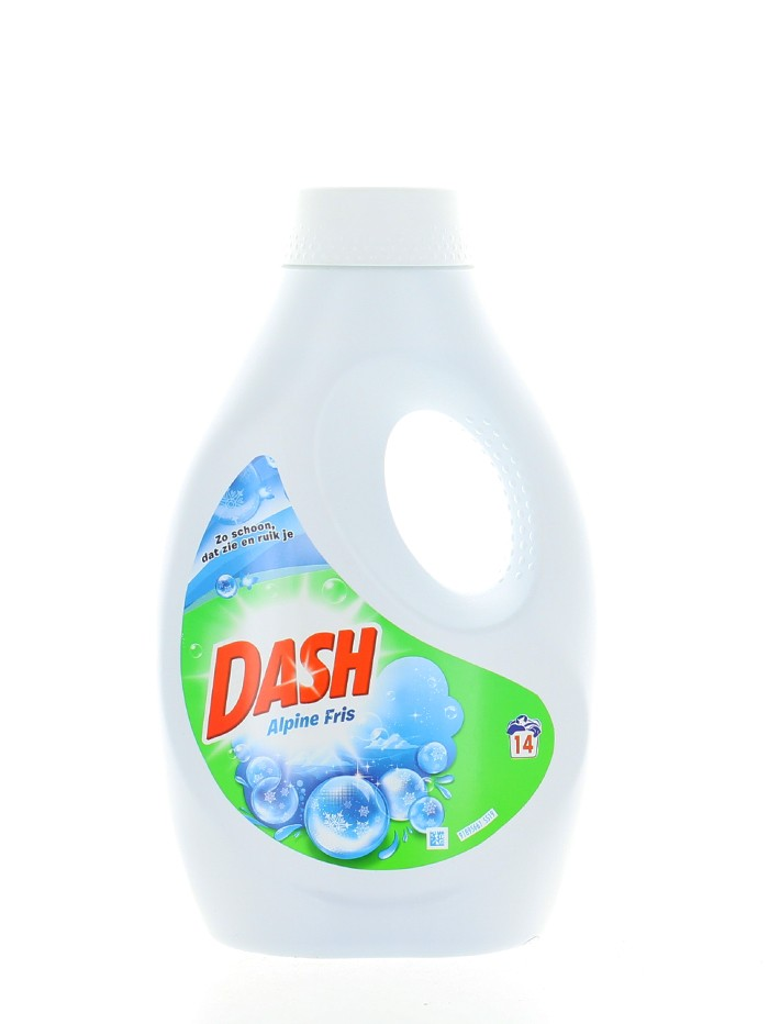 Dash Detergent lichid 770 ml 14 spalari Alpine Fris imagine produs