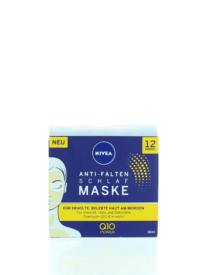 Nivea Masca de noapte antirid 50 ml Q10 imagine produs