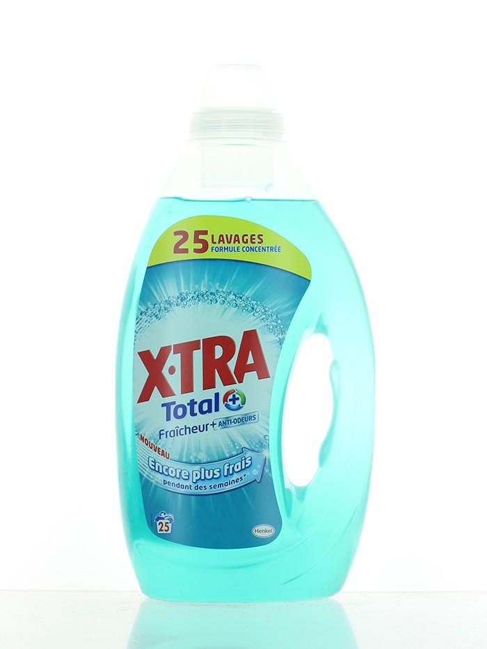 X-Tra Detergent lichid 1.25 L 25 spalari Total+ imagine produs