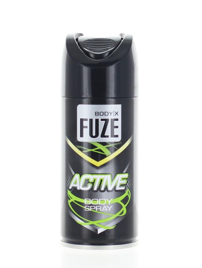 Body-X Fuze Spray deodorant pentru barbati 150 ml Active imagine produs