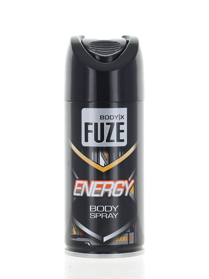 Body-X Fuze Spray deodorant pentru barbati 150 ml Energy imagine produs