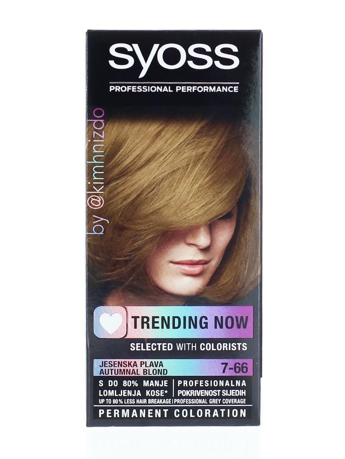Syoss Vopsea de par Trending Now 7-66 Autumnal Blond imagine produs