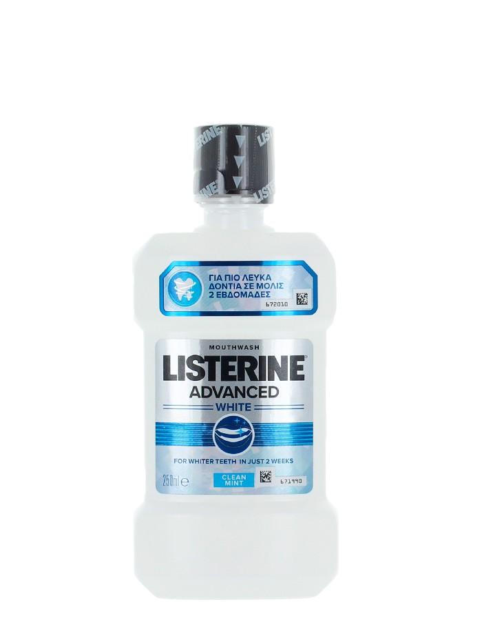Listerine Apa de gura 250 ml Advanced White imagine produs