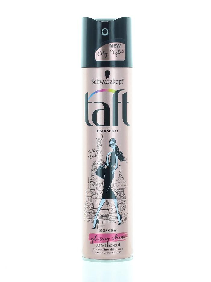 Taft Fixativ de par 250 ml nr.4 Glossy Shine Silky Sleek (Moscow) imagine produs