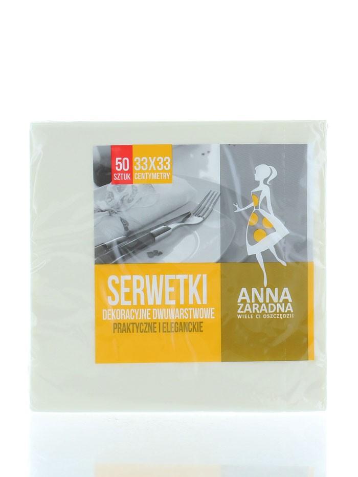 Anna Servetele de masa 2 straturi 50 buc 33x33 cm Champagne(cod:665) imagine produs