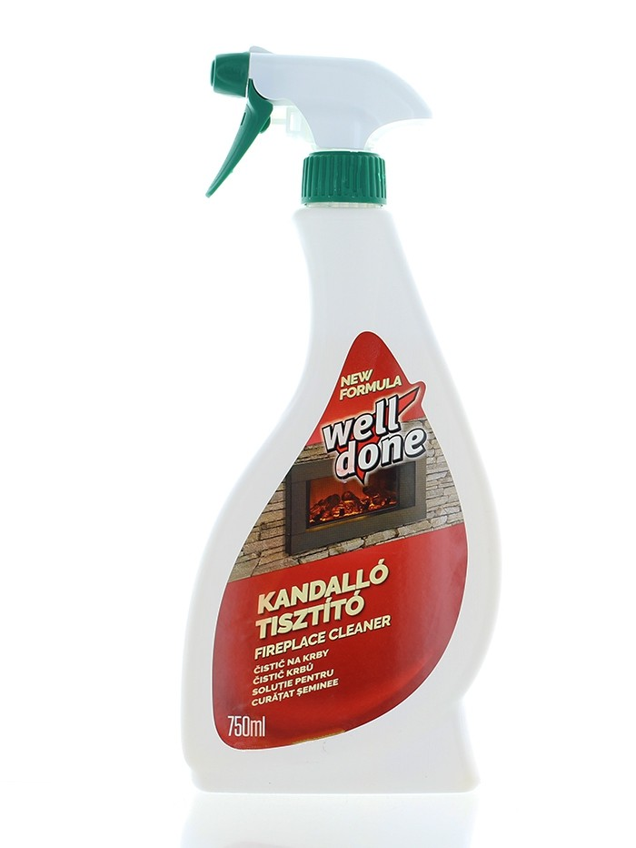Well Done Solutie pentru curatat seminee cu pompa 750 ml imagine produs
