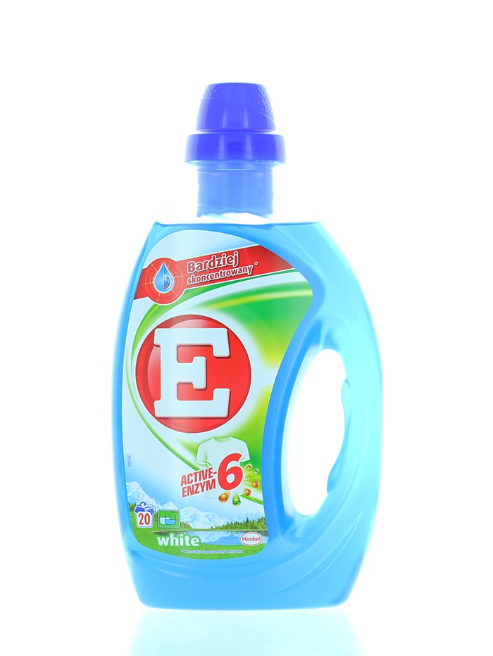 E Active Detergent lichid 1 L 20 spalari White imagine produs
