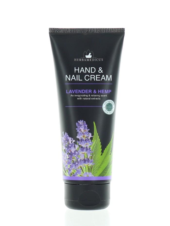 Herbamedicus Crema de maini si unghii 100 ml Lavender imagine produs