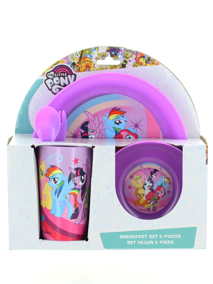 My Little Pony Set pentru masa 5 piese imagine produs