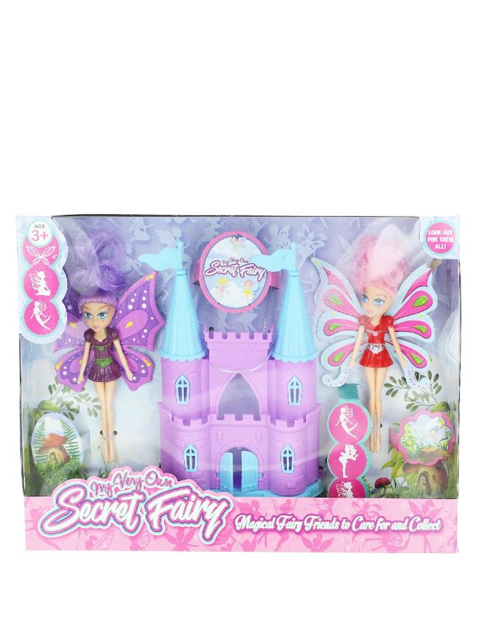 Jucarie Set castel cu papusile Secret Fairy imagine produs