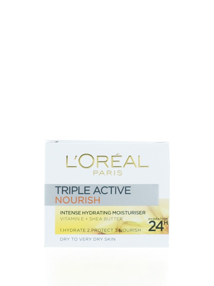 L'oreal Crema de fata hidratanta 50 ml Triple Active Nourish imagine produs