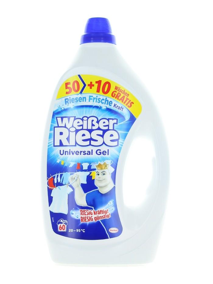 Weisser Riese Detergent lichid 3 L 60 spalari Universal imagine produs