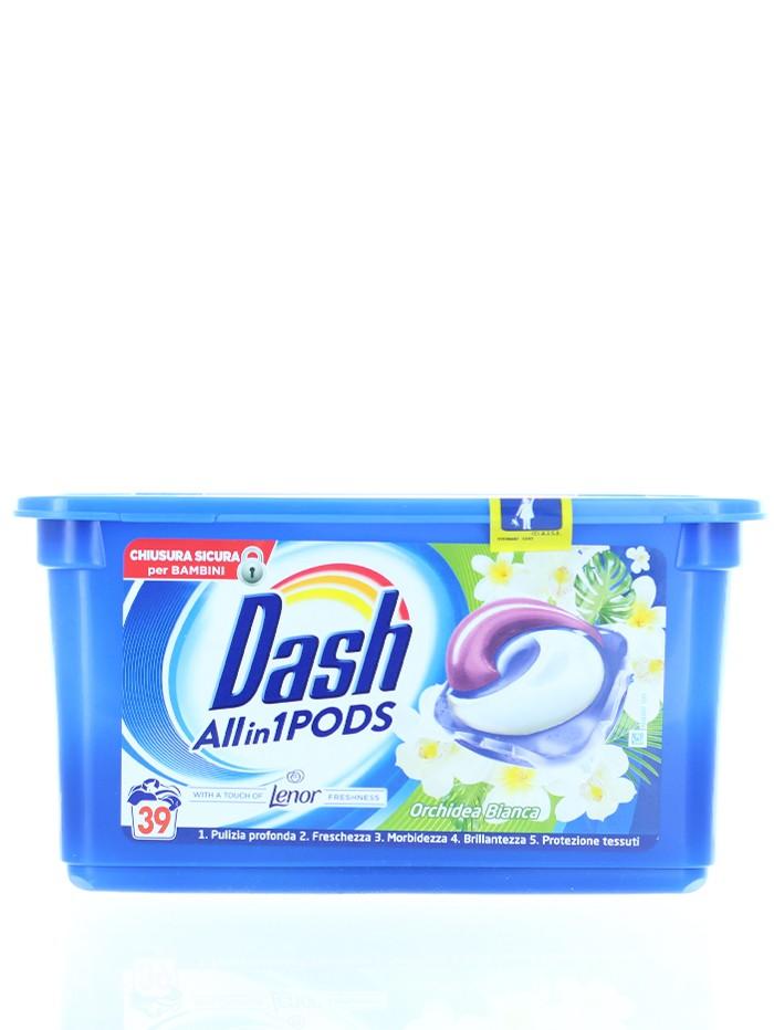 Dash Detergent Capsule 39 buc Orchidea Bianca imagine produs