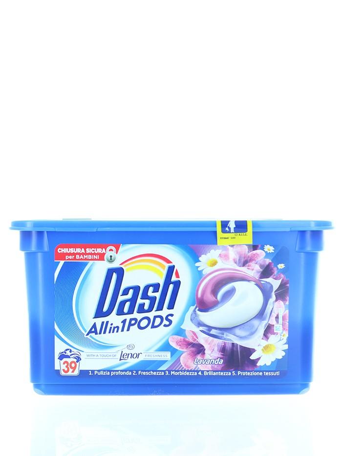 Dash Detergent Capsule 39 buc Lavanda imagine produs