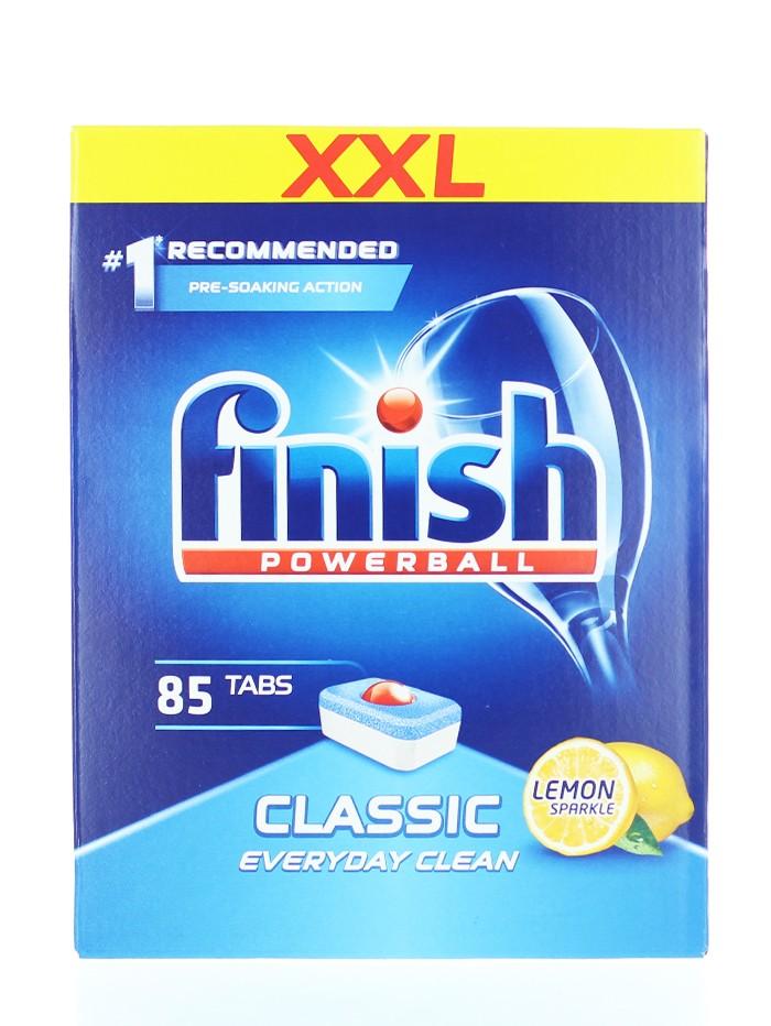 Finish Tablete pentru masina de spalat vase 85 buc Classic Lemon imagine produs