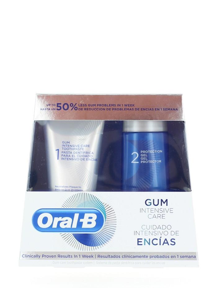 Oral-B Pachet:Pasta de dinti+Gel de protectie 85+63 ml Gum Intensive Care imagine produs