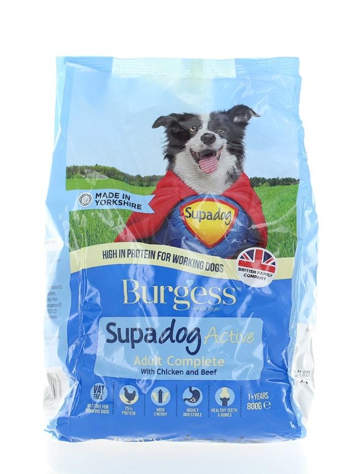 Burgess Hrana uscata pentru caini 800 g Supadog imagine produs