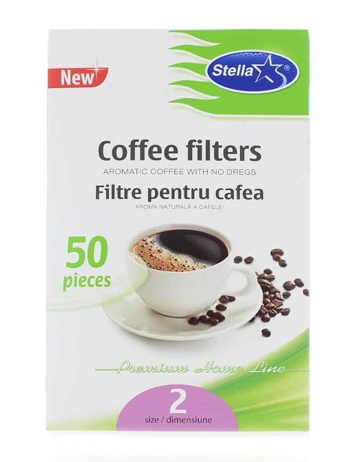 Stella Filtre pentru cafea 50 buc Nr:2 imagine produs
