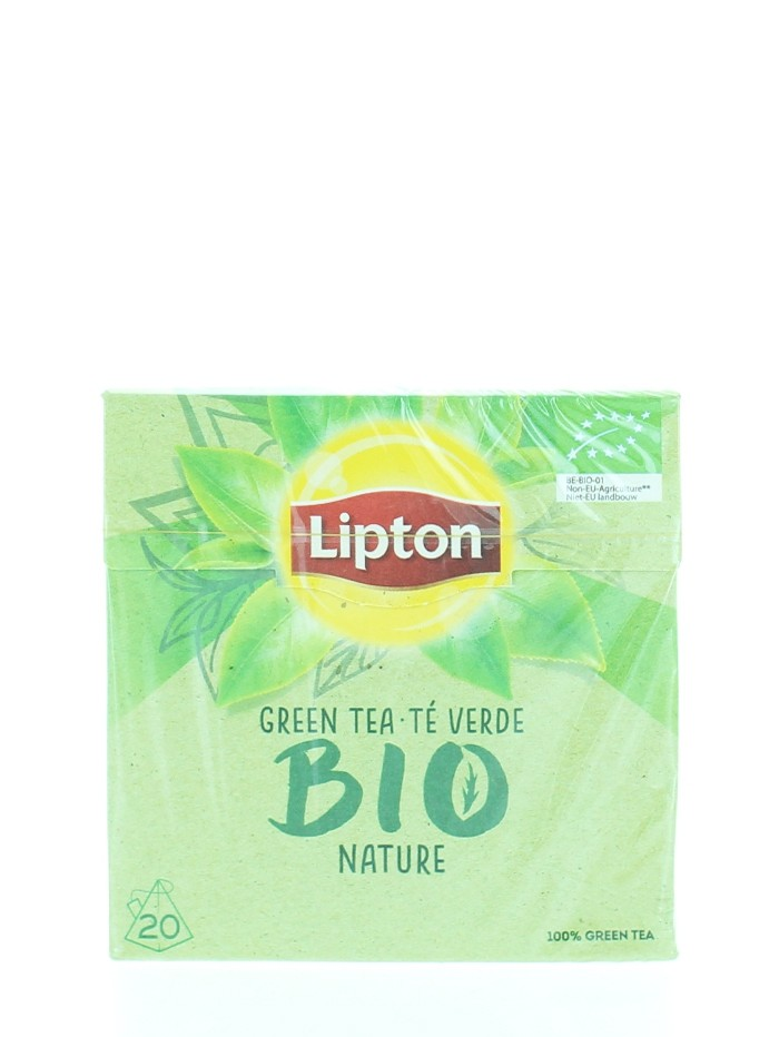 Lipton Bio Ceai verde 20 buc imagine produs