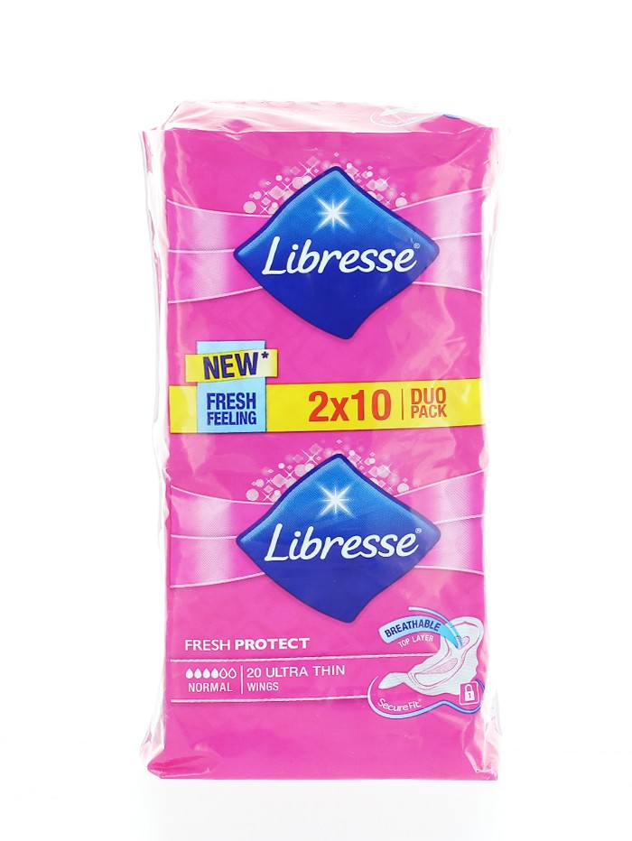 Libresse Absorbante duo pack 20 buc Normal Fresh Protect imagine produs