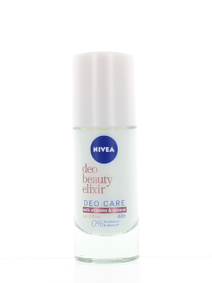 Nivea Roll-on 40 ml Beauty Elixir Sensitive imagine produs